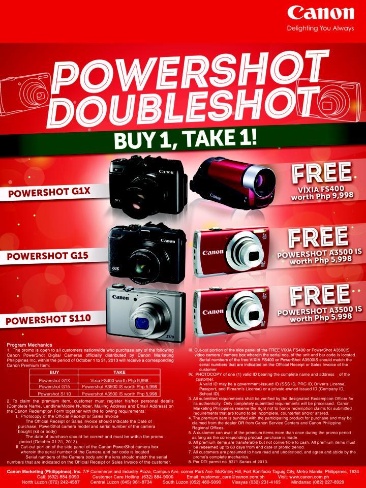 Digital Camera Canon Price List Philippines