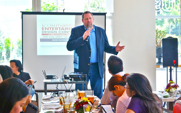 Sam Tanner, Founder and Executive Director for ICON for Missions gives a brief Introduction of Icon Manila.