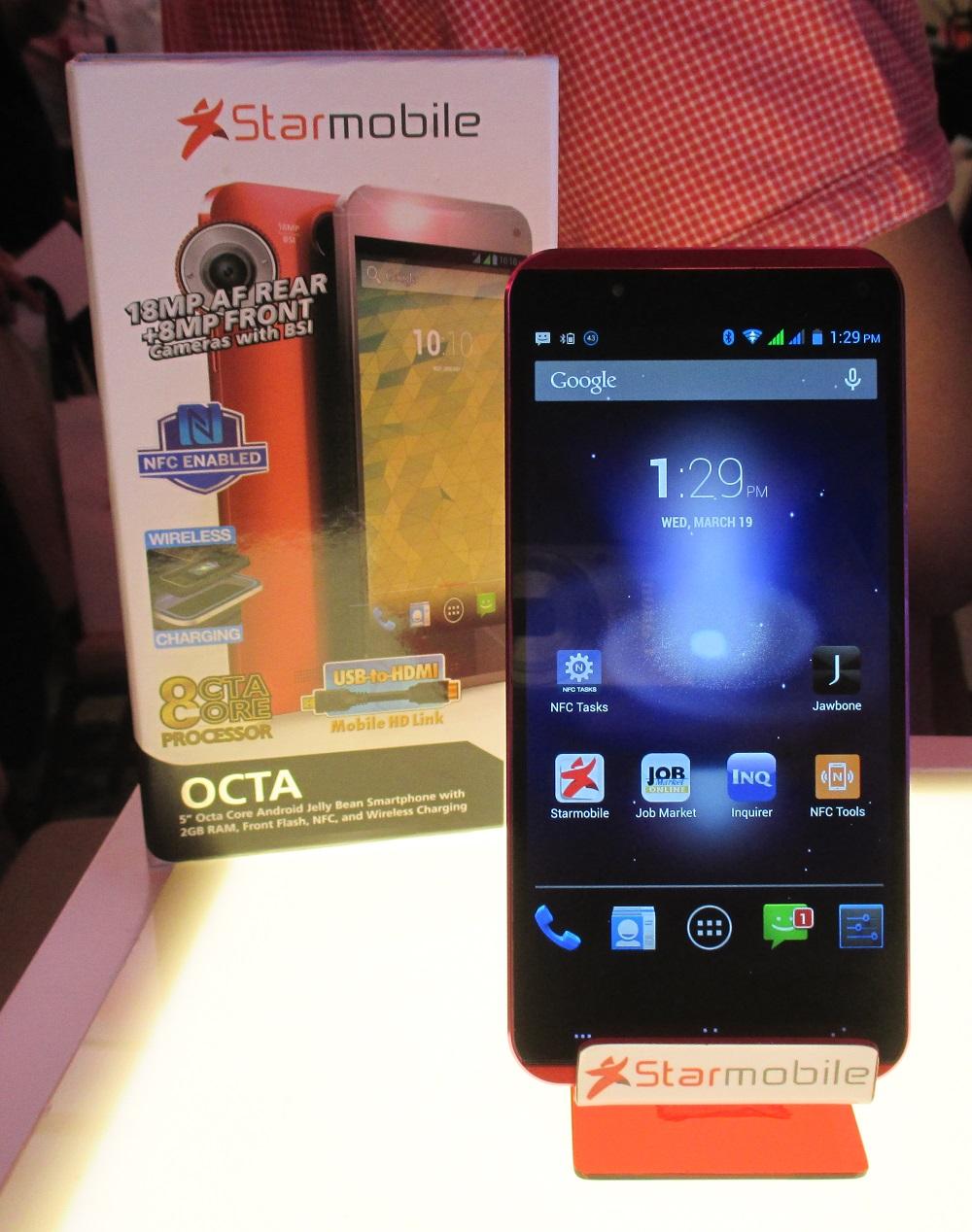 Starmobile Octa Follows Diamond X1 in Octa-core Smartphone Race ...