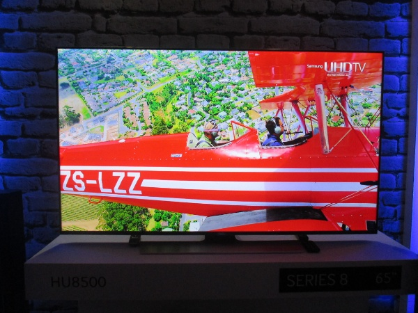 65-inch Samsung Series 8 HU8500 TV