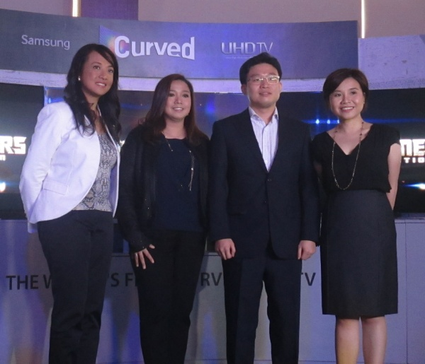 The AV Roadshow 2014 was graced with the presence of key Samsung Philippines executives led by Changik Choi, SEPCO's Business Adviser for AV products.
