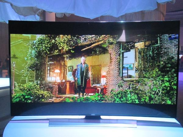 65-inch Samsung Series 8 HU9000 TV