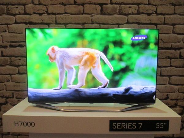 55-inch Samsung Series 7 H7000 TV