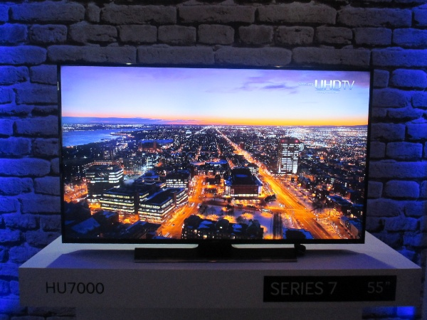 55-inch Samsung Series 7 HU7000 TV