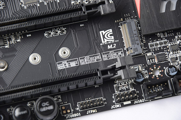 With the onboard support of the M.2 interface, we're hoping to see more SSDs that are based on this interface.