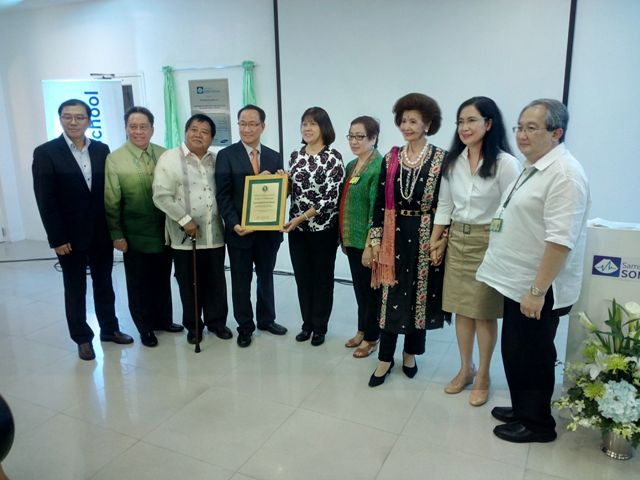 PGH and PGHMFI officials present a plaque of appreciation to Samsung Medison President Mr. Soo-In Cho.