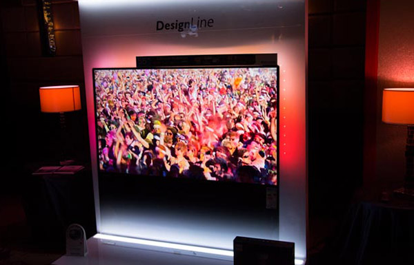 Ambilight adds a colorful touch to your viewing experience for greater immersion.