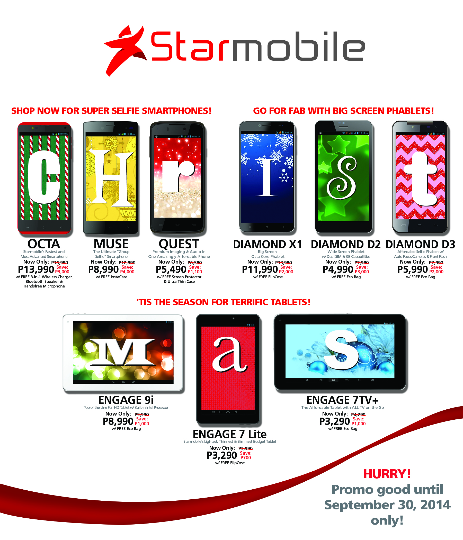 Starmobile drops prices for select smartphones and tablets as part ...