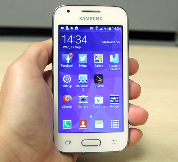 Samsung Does Not Stray Far From Its Usual Design Language With Galaxy Ace 4 LTE