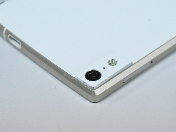 The main camera is quite elevated on the back of the ELIFE S5.5.