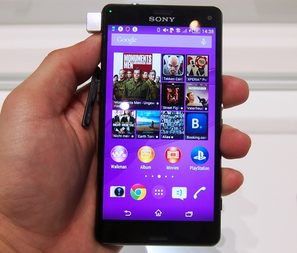 The Xperia Z3 Compact is a neat-looking Android smartphone.