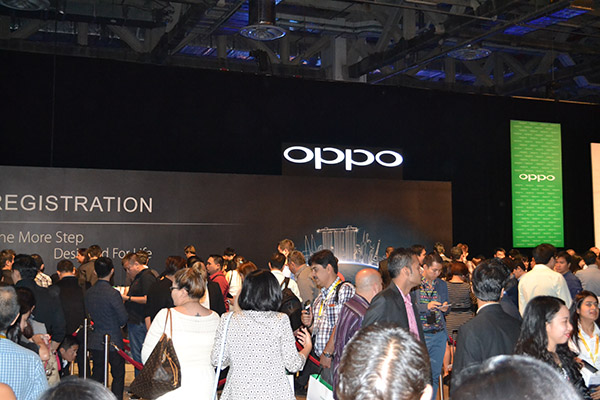 OPPO brought together a lot of people to witness the launch of the N3 and R5.