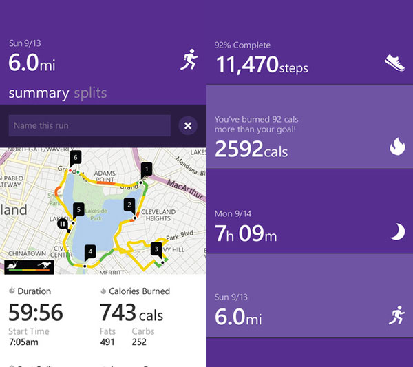 The Microsoft Health app now lets you track steps and