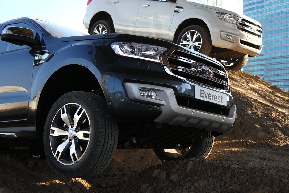 Ford Everest Cool White >> Ford introduces the all-new Ford Everest, a blend of stylish and advanced technologies ...