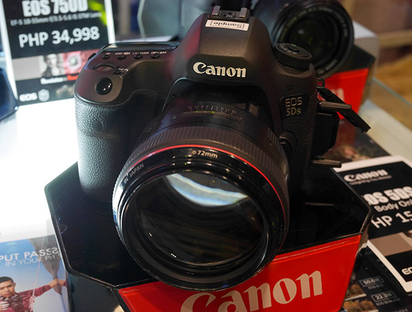 The Canon Eos 5ds And 5ds R Land In The Philippines With