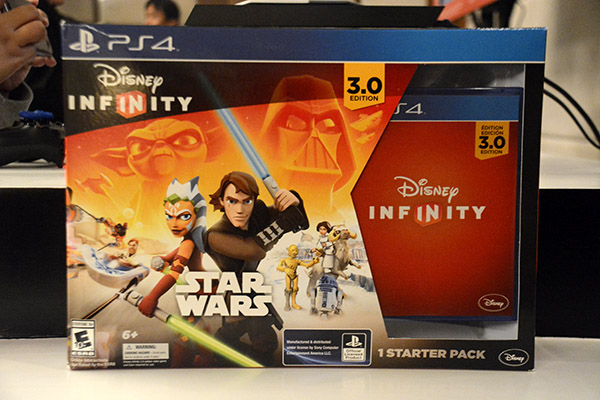 The retail box of Disney Infinity 3.0