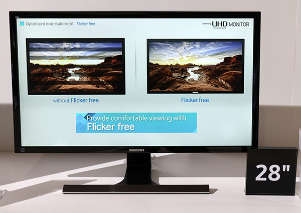 Samsung UE590 UHD Resolution Monitor