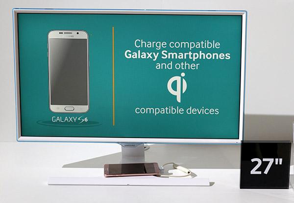 Samsung SE370 Smartphone Wireless Charging Monitor