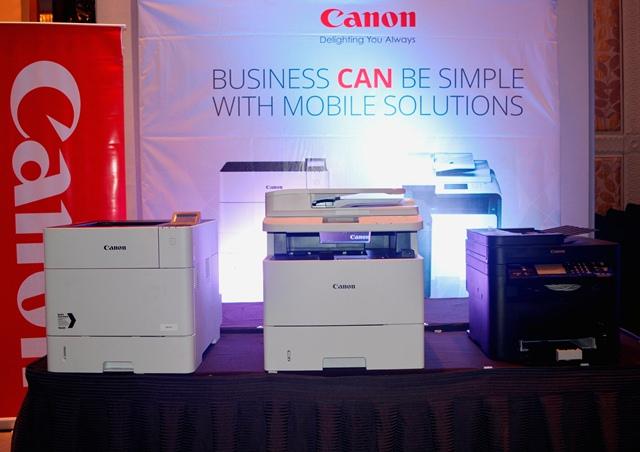 Canon imageCLASS LBP351x, imageCLASS MF515x, and imageCLASS MF217w