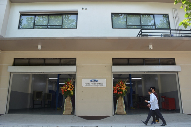The opening of the technical training center in Don Bosco is one of the many corporate social responsibility (CSR) projects of Ford in the Philippines.