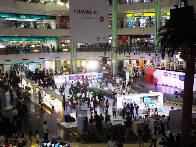 Taiwan Excellence Experiencing Zone at Market! Market! in Taguig City.