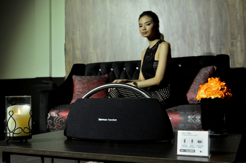 HARMAN is the company behind renowned labels like AKG, JBL, and harman kardon. Pictured is the harman kardon Go+Play.