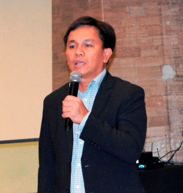 HARMAN's Country Head for the Philippines Larry Secreto