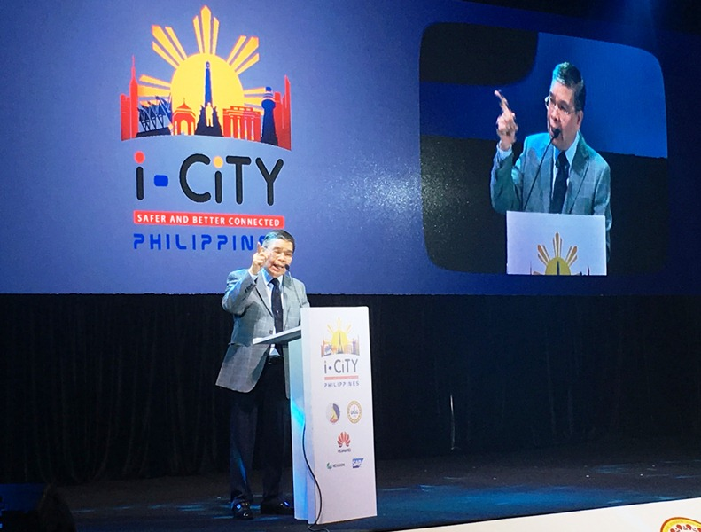 i-cities, dict, dilg, rodolfo salalima, i-city summit, smart cities, next-wave cities, national broadband project, government portal, huawei, sap, fiber optic