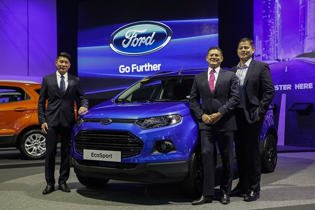 philippines, ford, ecosport, everest, mias, lance mosley mias 2017, ford island conquest, ford ranger