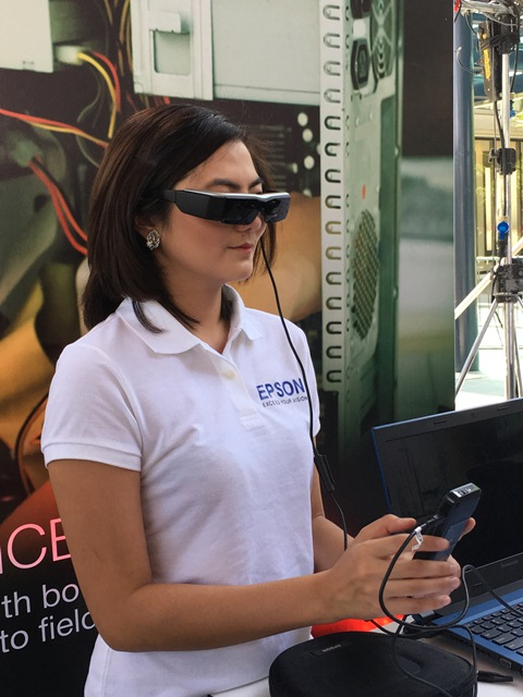epson, dji, moverio, bt-300, drones, oled, smart glasses, wearables, android 5.1 lollipop, intel atom, aurgmented reality, ar