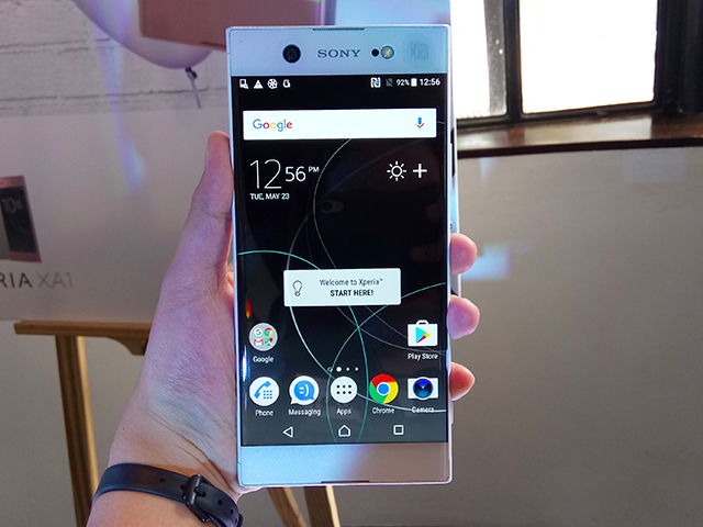 Makes In Xperia Ph Hardwarezone Php Flagship Smartphone Sony Landfall 490 45 Premium com Xz ph For -
