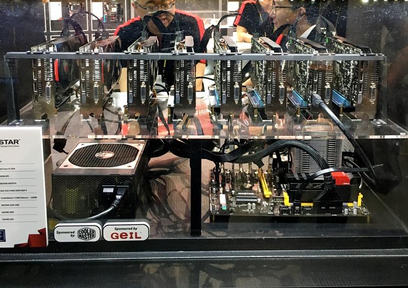 biostar, computex 2017, motherboard, racing, x299gt9, x370gt7, x370gtn, amd, radeon, rx580, x370,   racing p1, mini pc, bitcoin, bitcoin mining, tb250-btc, graphics card