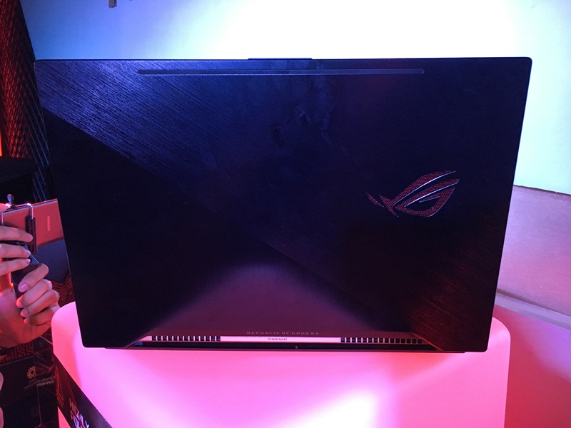 asus, republic of gamers, rog, zephyrus, gx501, nvidia, max-q, geforce, gtx 1080, gtx 1070, gaming, laptop, notebook, george su, strix, preorder, country manager, philippines