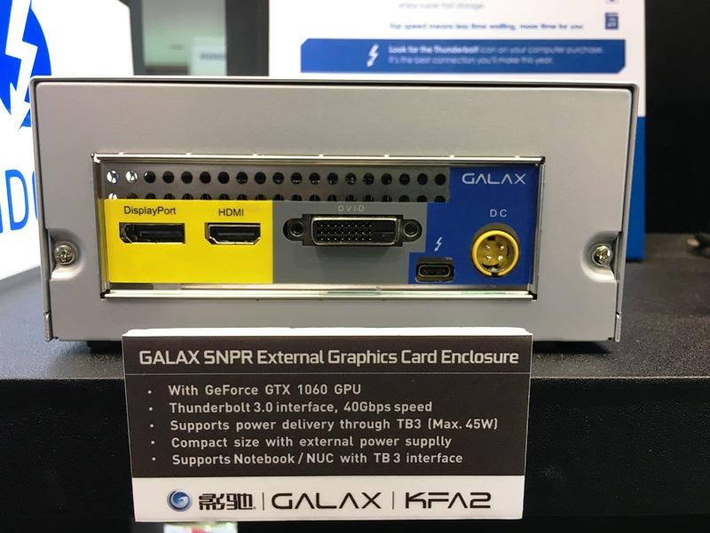 galaxy, galax, kfa2, computex 2017, aic partner, nvidia, geforce gtx 1080 ti, hall of fame, hof, snpr, external graphics dock, external graphics enclosure, memory modules, graphics cards, gaming, ram, powercolor, zotac, asus