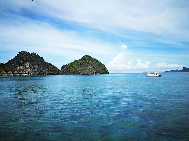 One of the marvelous views in Apulit Island, El Nido, Palawan.