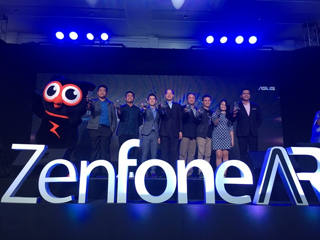 asus, zenfone, zenfone ar, ar, vr, augmented reality, virtual reality, smartphone, android 7.0 nougat