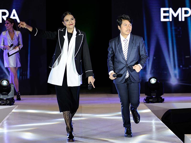 Acer pre-holiday promo celebrity ambassadors Alessandra De Rossi and Empoy Marquez.
