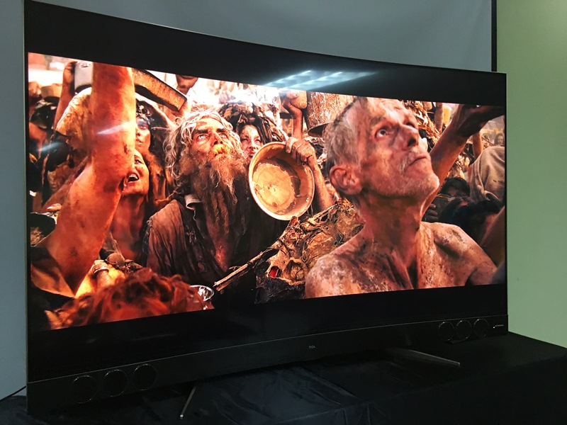 youtube, smart tv, review, netflix, spotify, flagship, google play, tcl, curved tv, android tv, harman/kardon, android 6.0 marshmallow, qled, tcl x3, c65x3us, graphic eq, mad max, elysium