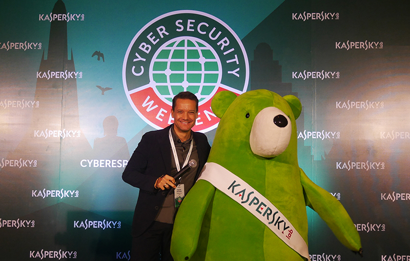 Stephan Neumeier, Managing Director of Kaspersky Lab of Asia Pacific