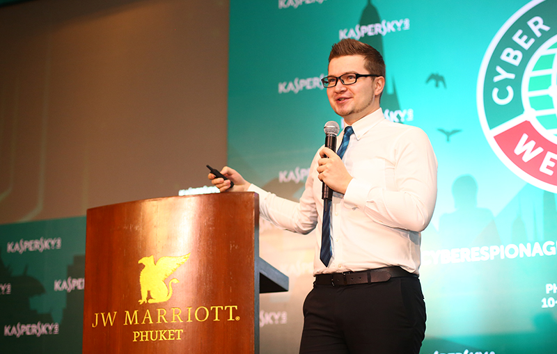 Vitaly Kamluk, Kaspersky Lab Director of Global Research and Analysis Team (GReAT) in Asia Pacific