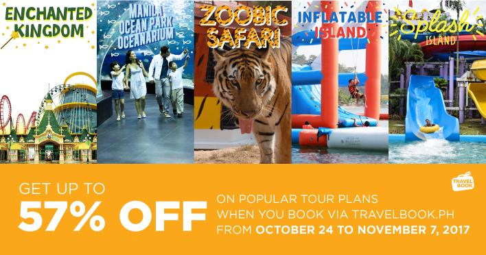discount, enchanted kingdom, inflatable island, manila ocean park, splash island., tours, travel, travelbook.ph, zoobic safari