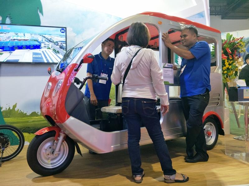 taiwan, iot, taiwan expo, smx, acer, vivotek, sc8131, ropali, teco, e-vehicle, jeepneys, tricycles, taitra, taitra