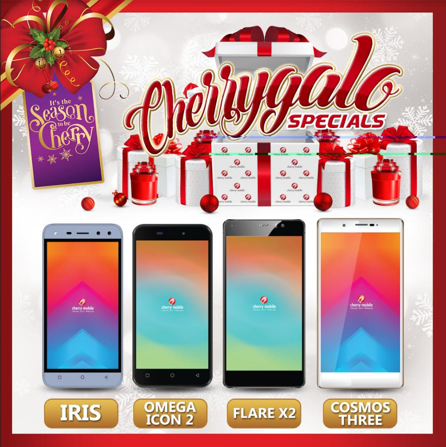 Cherry Mobile CherryGalo Specials