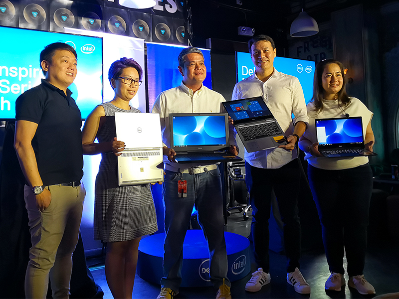 Dell executives at the local launch of the Inspiron 7000 series held in Taguig City.