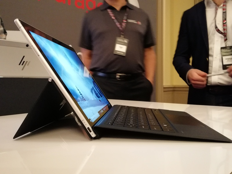 hp, hp envy x2, qualcomm, snapdragon 835, detachable pc, snapdragon x16, lte, convertible, windows 10, tablet, notebook, laptop
