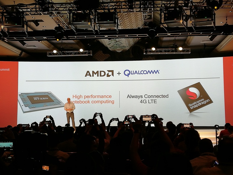 AMD, Qualcomm join forces to combine Ryzen APUs with Snapdragon LTE