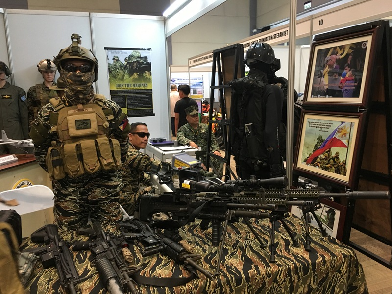 tacs, expo, armscor, sm aura, smx convention, taguig, defense, security, home invasion, disaster, calamity